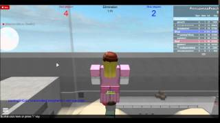 Peach Toadstool Plays: ROBLOX - Elimination Round 0005