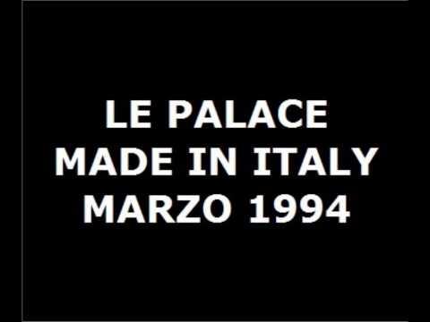 LE PALACE   MADE IN ITALY   MARZO 1994   LATO A