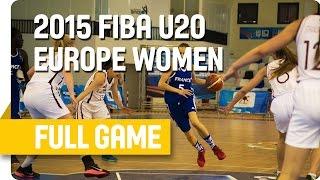 Latvia v France - Group B - Live Stream - U20 European Championship Women