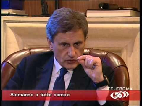 Intervista esclusiva a Gianni Alemanno