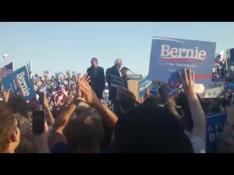 2016 Election: Bernie Sanders Comes to San Diego