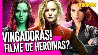 AS VINGADORAS: MARVEL E O SEU FILME DE HEROÍNAS