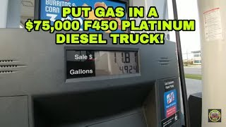 Oh no!  I Put GAS in a DIESEL Pickup!