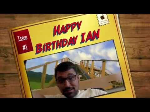 Happy Birthday Ian !
