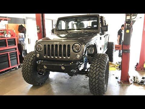 Prorock 60s swap, 40's and beadlocks Install Jeep JK VLOG, It's lit.