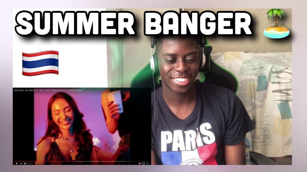 🤯 Dammm   DICE SOHO - MS. MOLLY FT. 1MILL, FIIXD, YOUNGGU (OFFICIAL MUSIC VIDEO) REACTION 🇹🇭