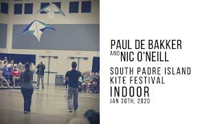 South Padre Island Kite Festival indoor -  Paul de Bakker & Nic O'Neill