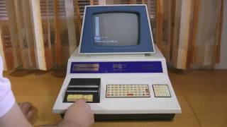 Commodore PET 2001 - BLUE PET - 1st Version 1977