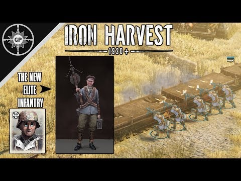The MG Infantry Are AMAZING! - Iron Harvest Alpha 2 Polania Multiplayer  