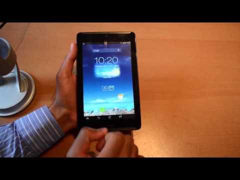 Asus Fonepad 7 Screenshot Machen Deutsch
