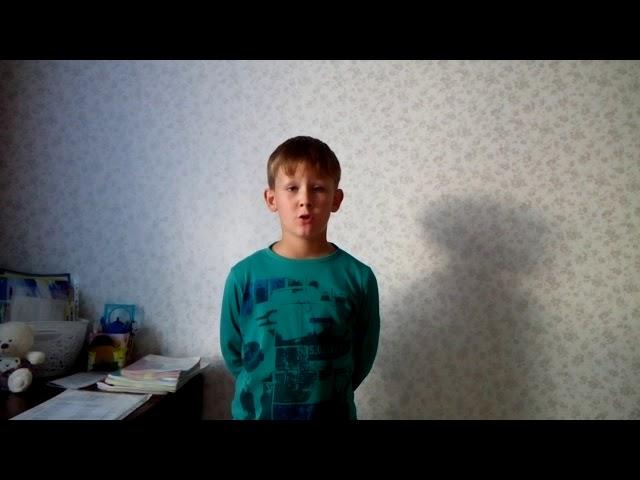 Изображение предпросмотра прочтения – МатвейСатеев читает произведение «Здравствуй, лето!» Т.В.Боковой