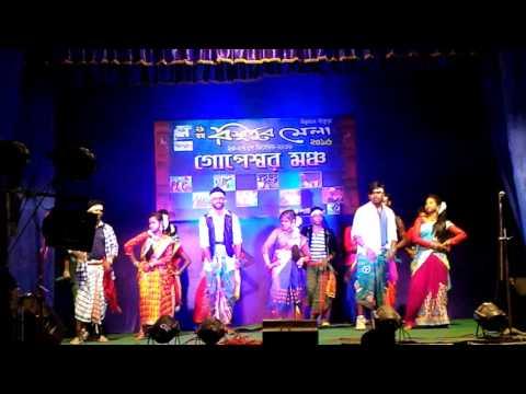 new santhali stage programme