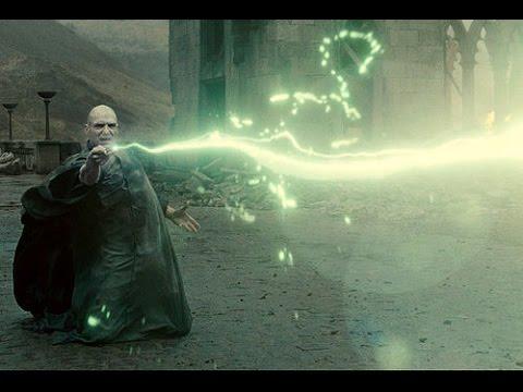 Все заклинания из фильмов о Гарри Поттере. (English)