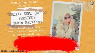 Download Karaoke Tanpa Vokal | TERDIAM SEPI Koplo Version - Nazia Marwiana