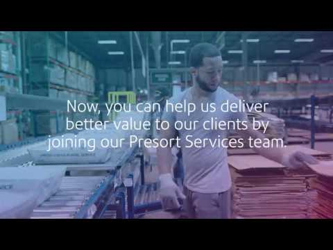 Pitney Bowes Presort Worker: Job Preview