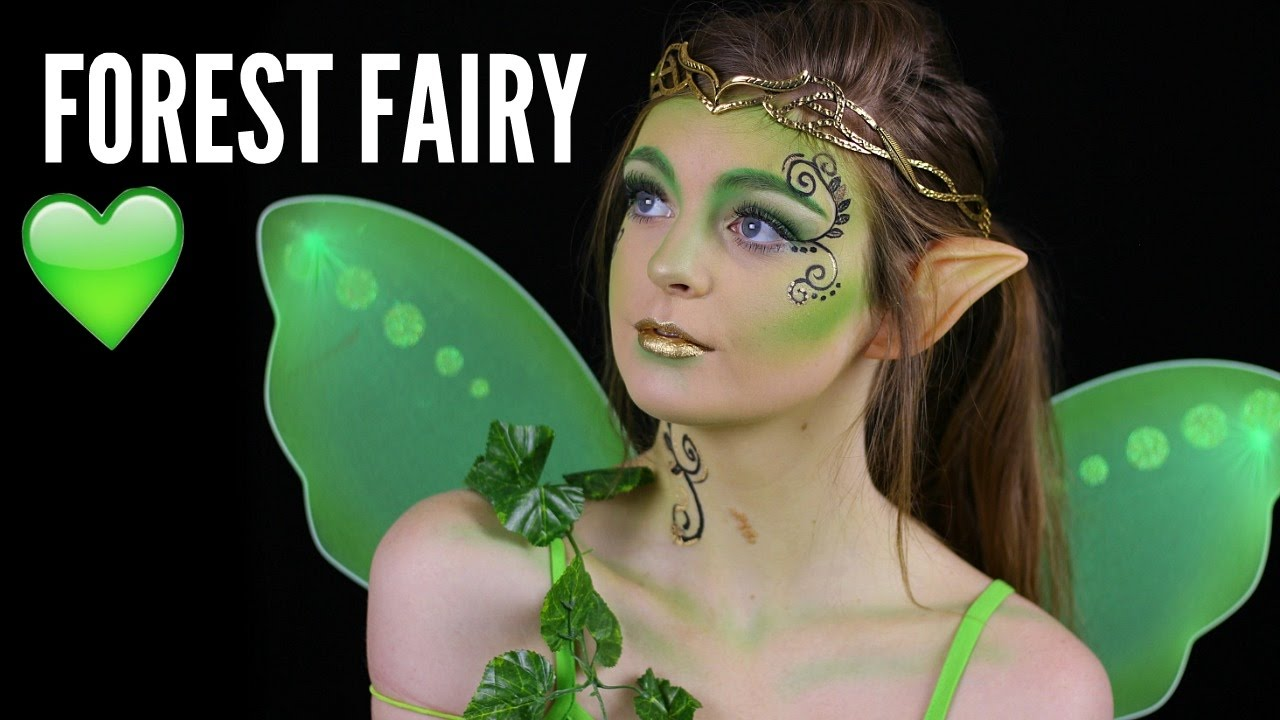 forest fairy halloween makeup tutorial youtube - Fairy Halloween Makeup Ideas