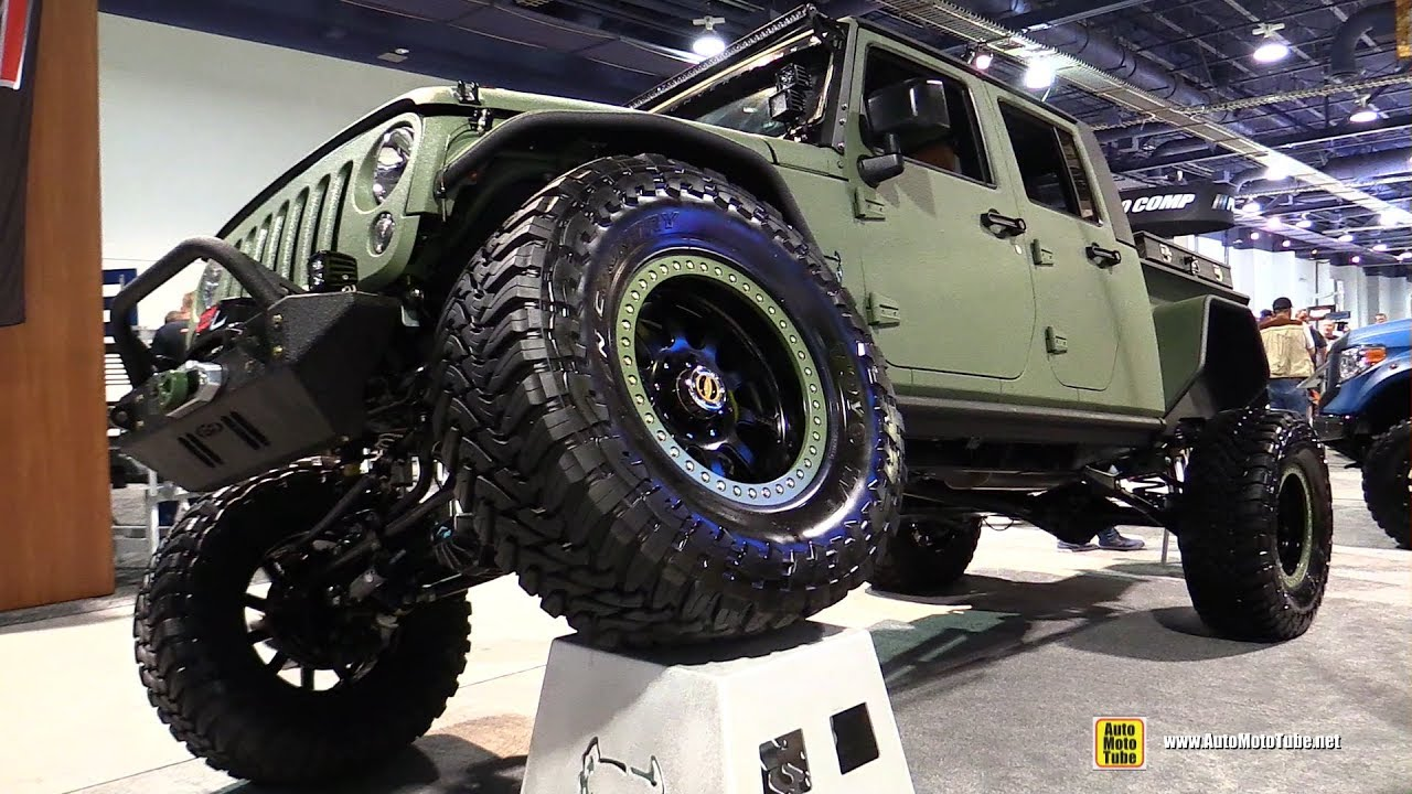 2016 Jeep Wrangler Bruiser Conversions JK Crew with Line-X ...