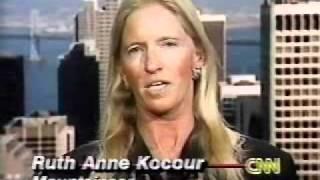 CNN International Hour about Ruth Anne Kocour