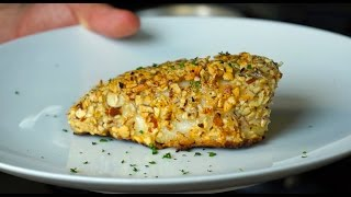 How To Nut Crust A Fish
