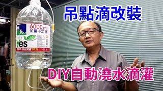 絕對超強! DIY自動澆水滴灌 外出不怕植物缺水了 thumbnail