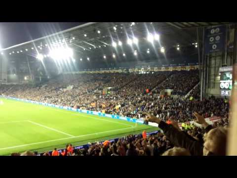 MUFC fans Zlatan song at west Brom LOUD