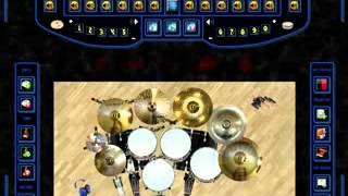 Pujiono -manisnya negriku (dany's virtual drum 2 cover by nafis)