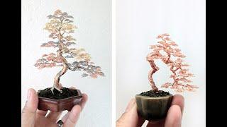 как сделать дерево из проволоки своими руками #самодилки