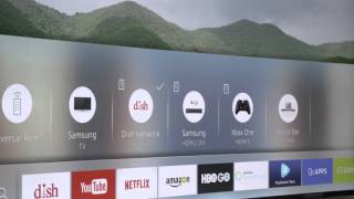 Samsung Smart Hub in Smart TVs | CES 2016 | Crutchfield video(Samsung Smart TVs: http://goo.gl/VJH0Al Samsung's Smart Hub keeps getting smarter, which makes your Smart TV better. See what's new from the Samsung ..., 2016-01-13T20:54:16.000Z)