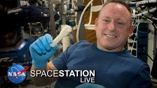 Space Station Live: Update on 3-D Printing in Space