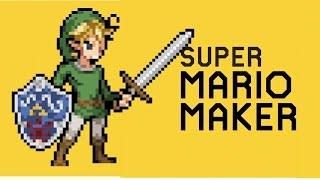 Mario Maker:  Zelda Theme Song