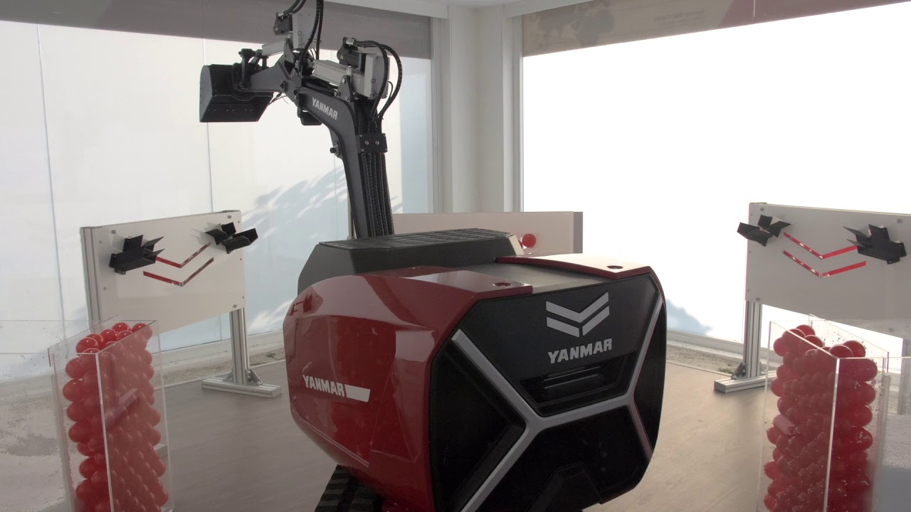 Yanmar eFuzion concept vehicle