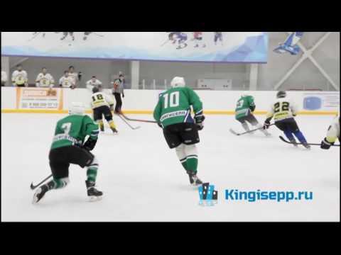 А могли бы стать ЛИДЕРАМИ? Большой хоккей в Кингисеппе: Ямбург - Форвард. KINGISEPP.RU