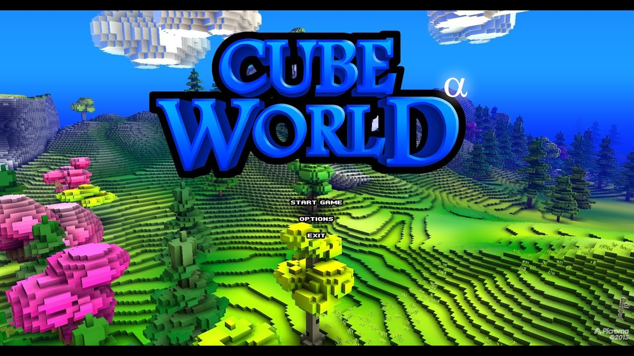 Cube World Play Now