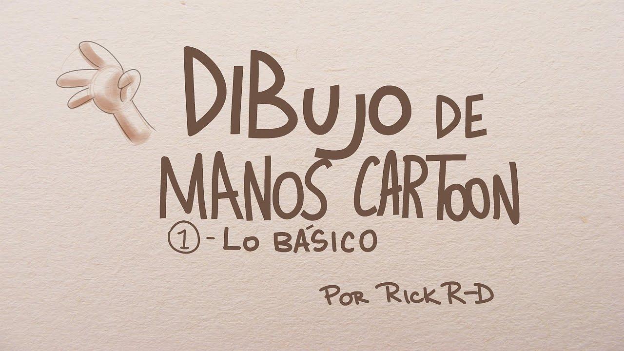 Tutorial Como dibujar manos cartoon bsicas por Rick RD  YouTube