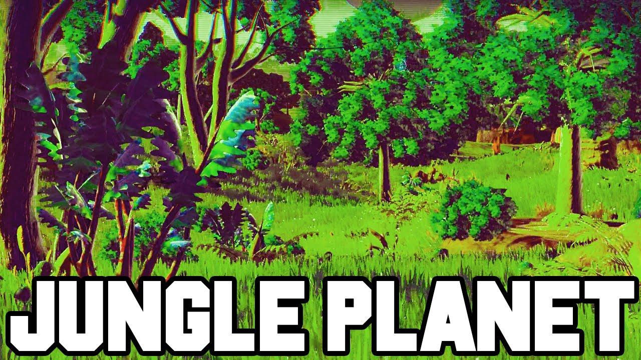 Jungle planet finally no man 39 s sky gameplay walkthrough - Plante jungle ...