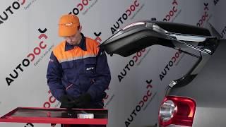 Смяна на Светлини на регистрационния номер на VW PASSAT Variant (3C5) - видео инструкции