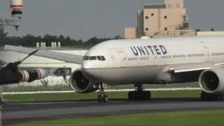 Tokyo Narita Airport Landings, United, ANA,Air Canada 777, 787