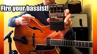 The Pedal That Every Jazz Guitarist MUST Have // Boss OC-3