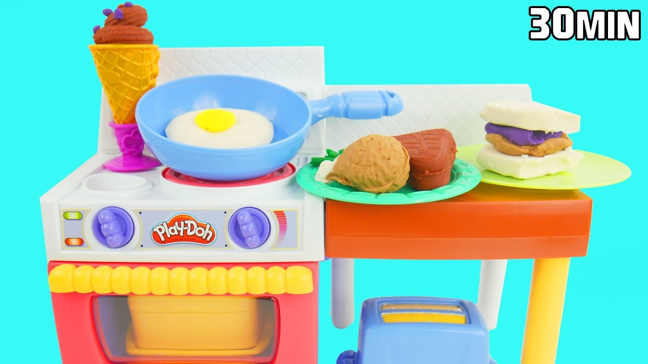 Play Doh Kitchen Oven Youtube
