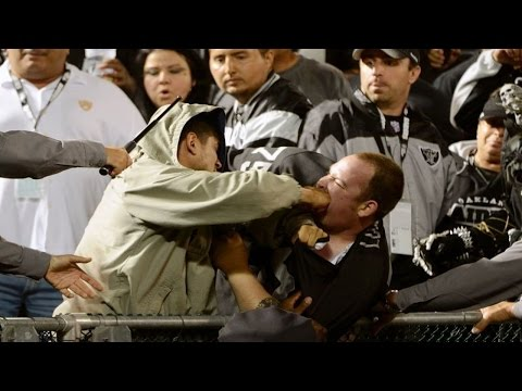 15 of the Most INSANE NFL Fan Fights