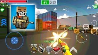 Pixel Grand Battle 3D AK-47 Gold Review Full Upgrade screenshot 3