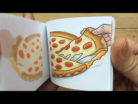Pizza Hut Flipbook - Grilled Cheese Stuffed Crust Pizza