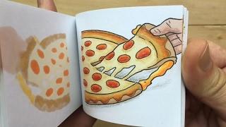 Pizza Hut Flipbook - Grilled Cheese Stuffed Crust Pizza