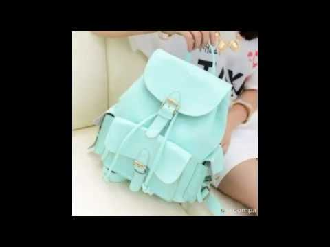 Trendy latest college bags for girls 2018-2019 - YouTube