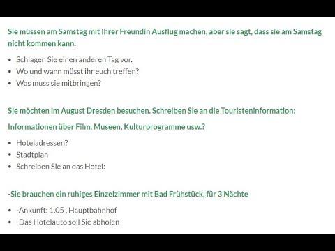 A1 Oder B1 Brief Schreiben Ubungen Deutschb1 Icu