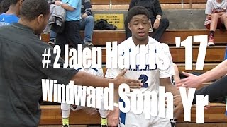 # 2 Jalen Harris '17, Windward Sophomore, UA Holiday Classic
