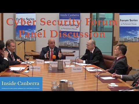 Inside Canberra Cyber Security Forum - Panel Discussion Introduction