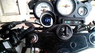 ZIPP PRO 50 montaz chlodnicy oraz czujnika temp.oleju +voltomierz