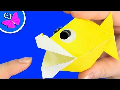 Как сделать оригами рыбку