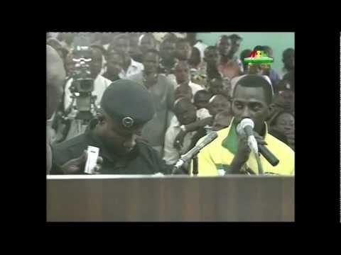 jugement des accusées en guinée conackry   SOUKA/ COLONEL AMADOU BANGOURA